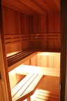 Upstairs sauna